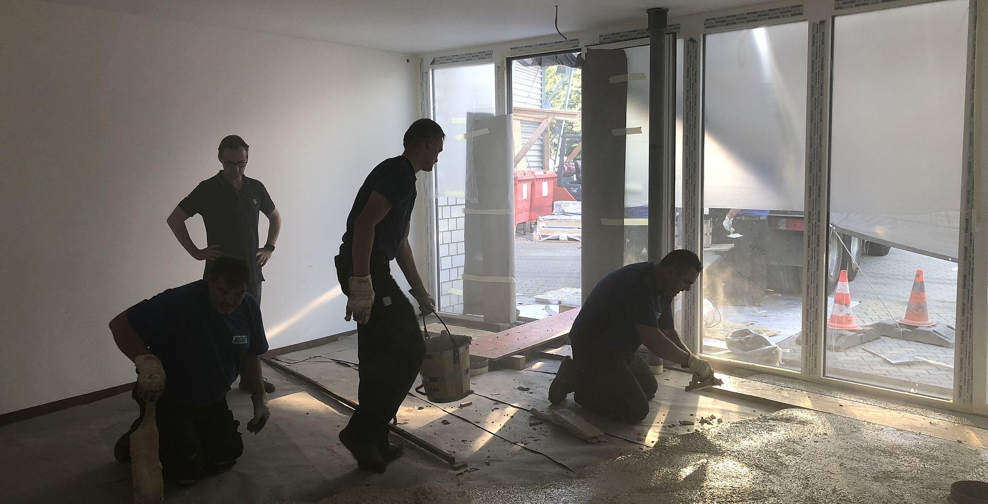 Bürogebäude Bergheim - ASIS Asphalt